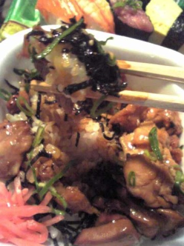 Seaweed with Teriyaki Chicken!