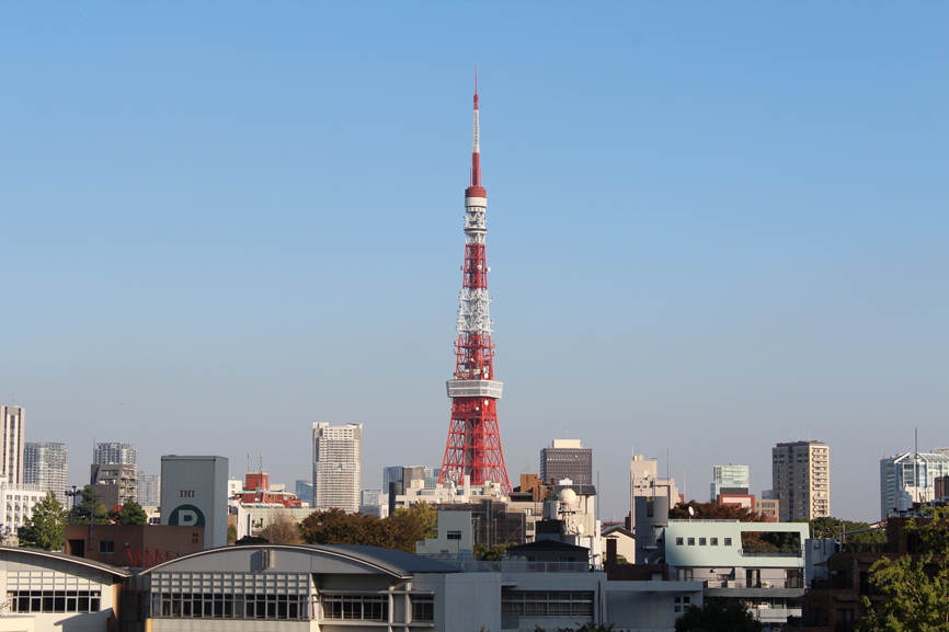 The famous Tokyo Tower!