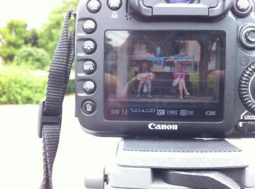 撮影中 Now Filming!